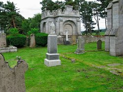 The Earl of Seafield`s Mausoleum at Duthil